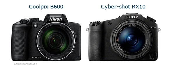 Nikon coolpix b600 vs Sony cyber shot rx10