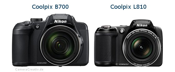 Nikon coolpix b700 vs Nikon coolpix l810