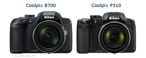 Nikon coolpix b700 vs Nikon coolpix p510