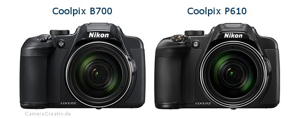 Nikon coolpix b700 vs Nikon coolpix p610
