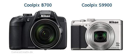 Nikon coolpix b700 vs Nikon coolpix s9900