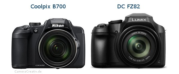Nikon coolpix b700 vs Panasonic dc fz 82