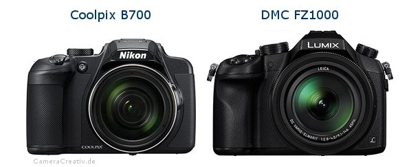 Nikon coolpix b700 vs Panasonic dmc fz 1000