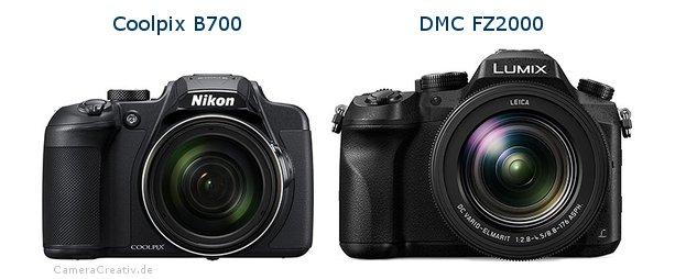 Nikon coolpix b700 vs Panasonic dmc fz 2000