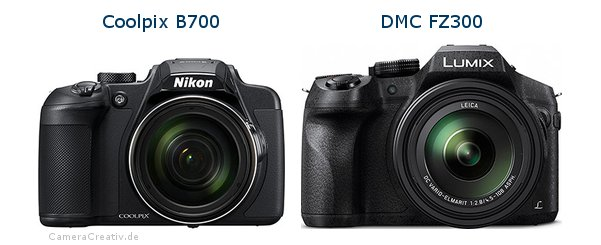 Nikon coolpix b700 vs Panasonic dmc fz 300