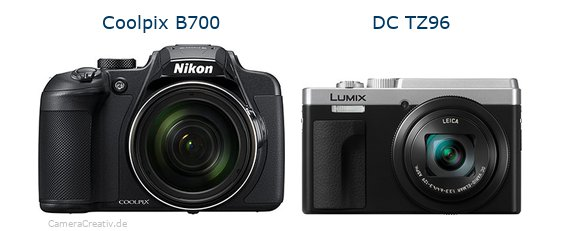 Nikon coolpix b700 vs Panasonic lumix tz 96