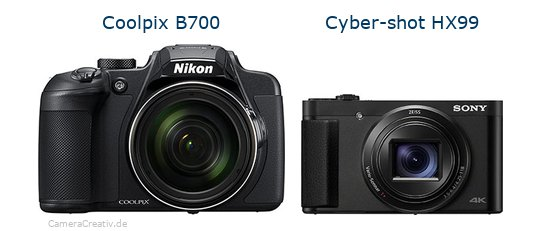 Nikon coolpix b700 vs Sony cyber shot hx 99