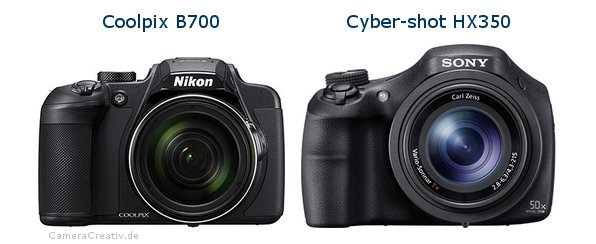 Nikon coolpix b700 vs Sony cyber shot hx350
