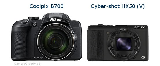 Nikon coolpix b700 vs Sony cyber shot hx50