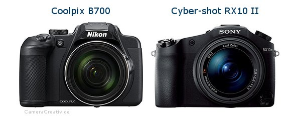 Nikon coolpix b700 vs Sony cyber shot rx10 ii
