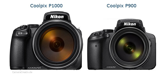 Nikon coolpix p1000 vs Nikon coolpix p900