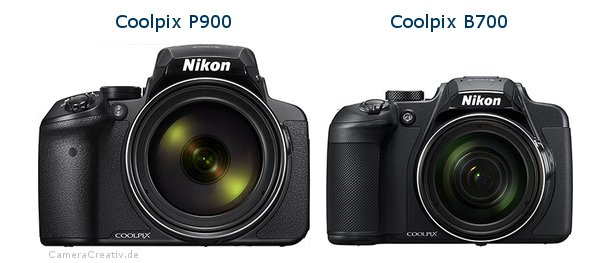 Nikon coolpix p900 vs Nikon coolpix b700