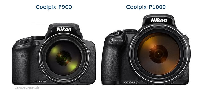 Nikon coolpix p900 vs Nikon coolpix p1000