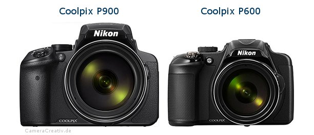 Nikon coolpix p900 vs Nikon coolpix p600