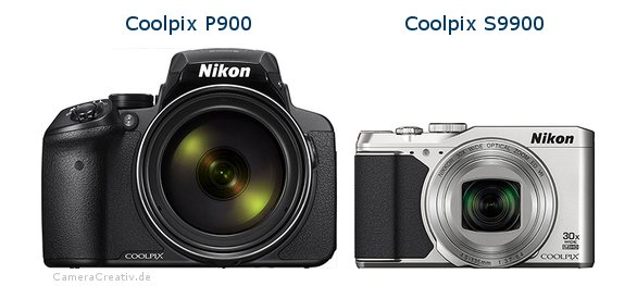 Nikon coolpix p900 vs Nikon coolpix s9900