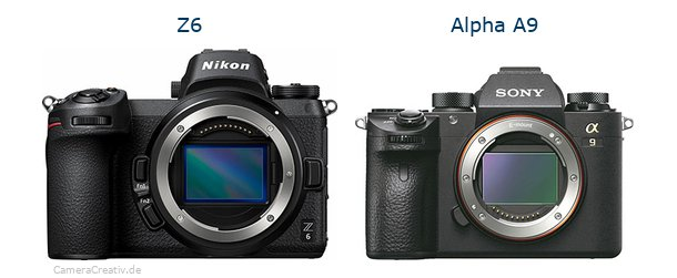 Nikon z6 vs Sony alpha a9