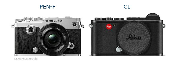 Olympus pen f vs Leica cl