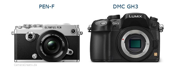 Olympus pen f vs Panasonic dmc gh3