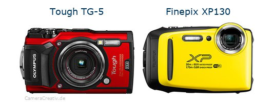 Olympus tg 5 vs Fujifilm finepix xp130