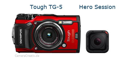 Olympus tg 5 vs Gopro hero session