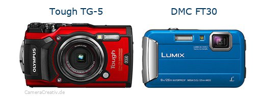 Olympus tg 5 oder Panasonic dmc ft30