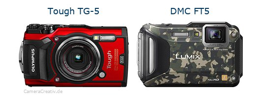 Olympus tg 5 vs Panasonic dmc ft5