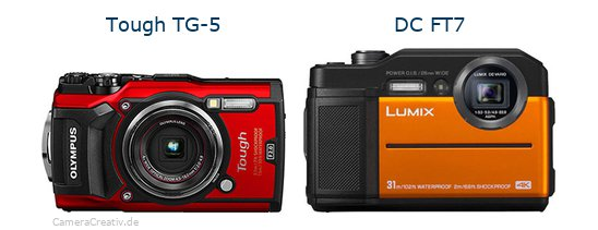Olympus tg 5 vs Panasonic lumix ft7