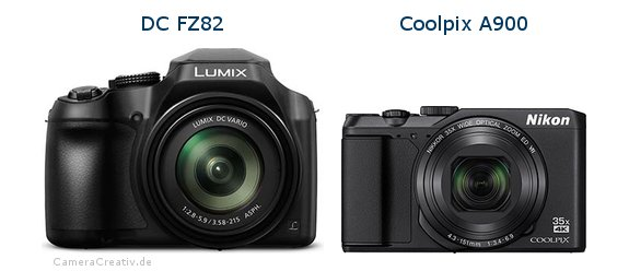 Panasonic dc fz 82 vs Nikon coolpix a900