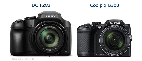 Panasonic dc fz 82 vs Nikon coolpix b500
