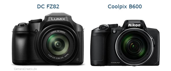 Panasonic dc fz 82 vs Nikon coolpix b600