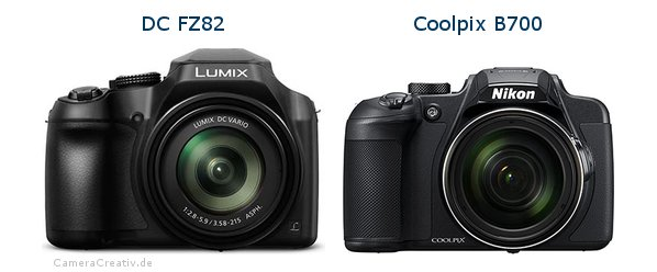 Panasonic dc fz 82 vs Nikon coolpix b700