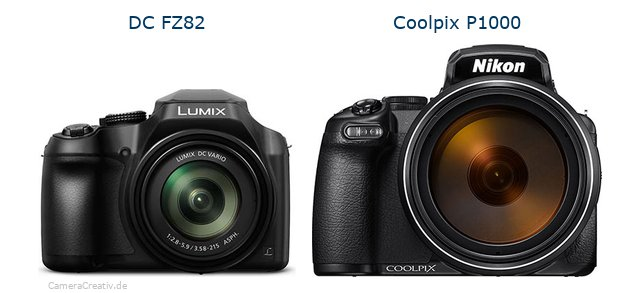 Panasonic dc fz 82 vs Nikon coolpix p1000