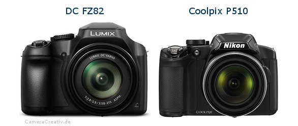 Panasonic dc fz 82 vs Nikon coolpix p510