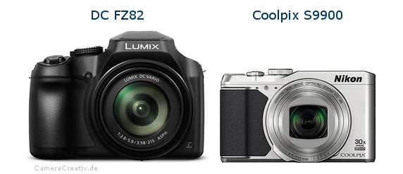 Panasonic dc fz 82 vs Nikon coolpix s9900