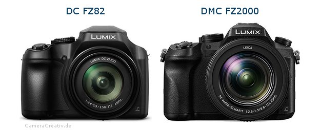 Panasonic dc fz 82 vs Panasonic dmc fz 2000