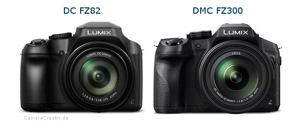 Panasonic dc fz 82 vs Panasonic dmc fz 300