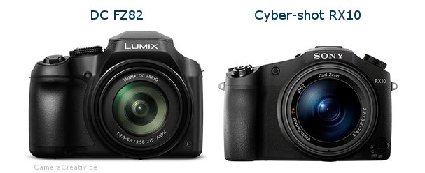 Panasonic dc fz 82 vs Sony cyber shot rx10