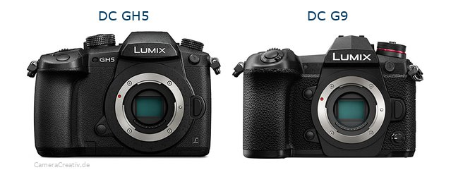 Panasonic dc gh 5 vs Panasonic dc g9