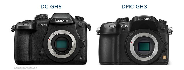 Panasonic dc gh 5 vs Panasonic dmc gh3