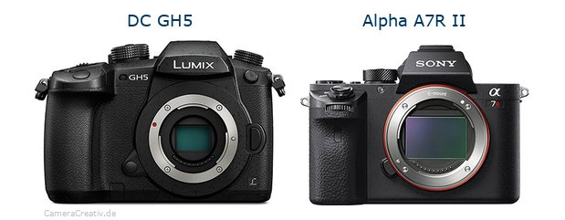 Panasonic dc gh 5 vs Sony alpha a7r ii
