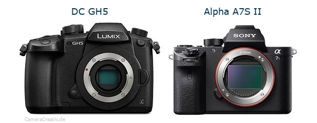 Panasonic dc gh 5 vs Sony alpha a7s ii