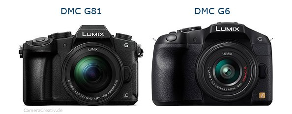 Panasonic dmc g 81 vs Panasonic dmc g6