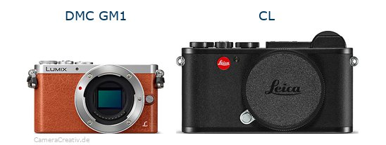 Panasonic dmc gm 1 vs Leica cl