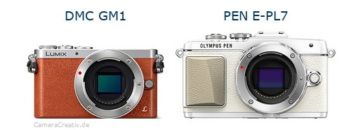 Panasonic dmc gm 1 vs Olympus pen e pl7