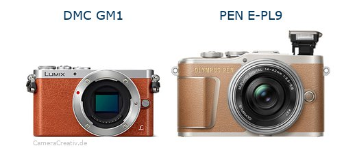Panasonic dmc gm 1 vs Olympus pen e pl9