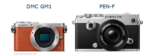 Panasonic dmc gm 1 vs Olympus pen f