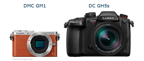 Panasonic dmc gm 1oderPanasonic dc gh5s