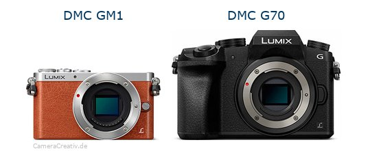 Panasonic dmc gm 1 vs Panasonic dmc g 70