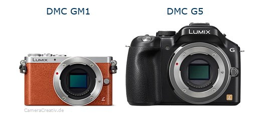 Panasonic dmc gm 1 vs Panasonic dmc g5
