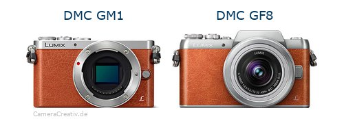 Panasonic dmc gm 1 vs Panasonic dmc gf 8